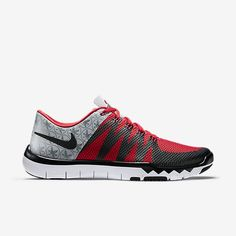 nike free trainer 5.0 mens training shoes red/white raglan