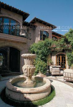 Mega Lifestyles Dream Vacation Homes Old-World Mediterranean Charm