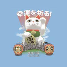 8bit luck cat - Google Search