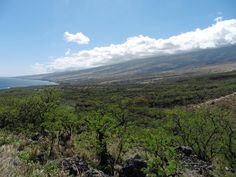 The route from Kahului to Hana is green and beautiful. But do not turn back if you want to see the other side of Maui. The back side of Haleakala has stunning views with deserted valleys. Takana, Stunning View, Beautiful, Maui Hawaii, The Other Side, Villa, In This Moment, Mountains, Travel