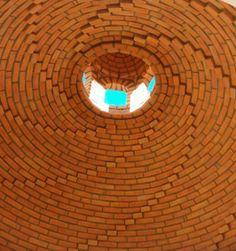 Brick Archway, Mexico House, Brick Architecture, Spanish House, Brickwork, Vaulting, Ceiling, House Design, Exterior
