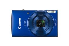 Canon IXUS 190 digital camera million pixels optical zoom ultra wide-angle support for Wi-Fi and NFC) blue Toy Camera, Camera Case, Camera Gear, Wi Fi, Canon Powershot Elph, Canon Elph, Canon Ixus, Smart Auto, Optical Image