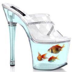 Fish bowl heels