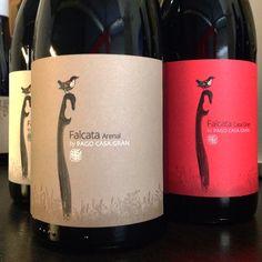 Ya tenemos con nosotros las nuevas botellas de la bodega Pago Casa Gran: FALCATA  ¡Espectaculares!