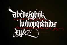 Tattoo Fonts Alphabet, Calligraphy Alphabet, Typography Letters, Typography Logo, Caligraphy, Calligraphy Types, Arabic Calligraphy Design, Brush Lettering, Lettering Design
