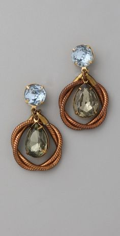 Lulu Frost    Knot Teardrop Earrings  Style #:LULUF40022  $156.00