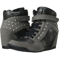 1deb4d82594 G by Guess Raurie Grey Wedge Sneakers. Solesational Footwear   Apparel