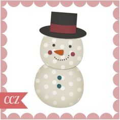 FRee! Your snowman pattern will come with the shapes saved in various file formats in including GSD, AI, PDF, PNG, EPS, DXF, and SVG files.