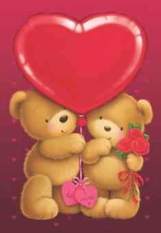 Best Ideas Birthday Wishes Gif Love You Cute Teddy Bear Pics, Teddy Bear Pictures, Cute Bears, Birthday Wishes Gif, Teddy Beer, Valentines Day Bears, Bunny Painting, Love You Gif, Baby Clip Art