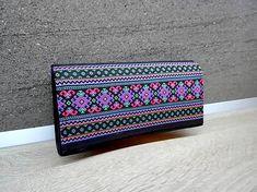 Si.Ma / Peňaženka na 12 kariet,koženka, bavlna Continental Wallet, Bags, Fashion, Handbags, Moda, Totes, Fasion, Lv Bags, Taschen