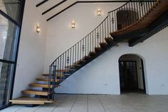 Custom Built Curved Staircases | Homebuilding & Renovating