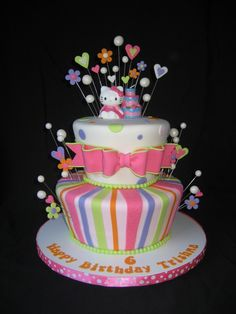 Hello Kitty Cake This is SOOOOO going to be a cake idea 4 my
