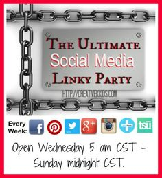 Social Media Party ever Wednesday!  Get new followers!