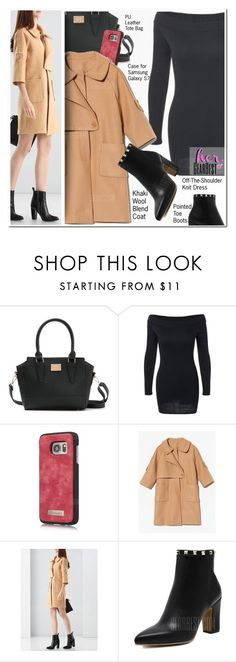 """""""Work Look"""" by ansev ❤ liked on Polyvore featuring Samsung, minidress, lkid, gearbest and hergearbest"""