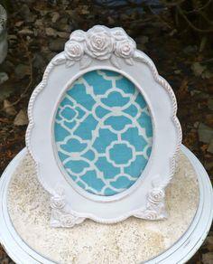 Lovely terra cotta frame, unusual and lovely.  Casa Karma Decor :)