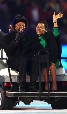 Nelson Mandela last public appearance 2010