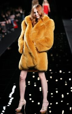 High Fashion Fur & Anorexic Models.
