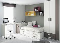 Tiny Bedroom Design, Wardrobe Design Bedroom, Kids Room Design, Home Room Design, Living Room Partition Design, Room Partition Designs, Small Bedroom Storage, Small Room Bedroom, Small Boys Bedrooms