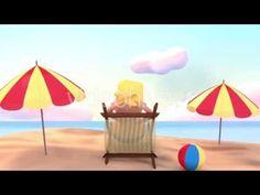 Toon Happy Summer Beach Vacation - Motion Graphic Project - Cartoon Animation Promo - TYKCARTOON - YouTube