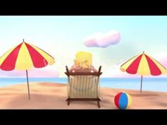 Toon Happy Summer Beach Vacation - Motion Graphic Project - Cartoon Animation Promo - TYKCARTOON - YouTube