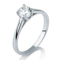 Diamantring Solitär 585er Gold - 0.10 Karat weißer Diamant G/SI1  Ein Diamantring vom Juwelierhaus Abt in Dortmund.   http://www.juwelierhausabt.de/de/Diamantringe/Diamant-Ringe-Solitaer
