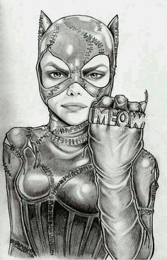 Meow - Looks like Cara Delevingne...