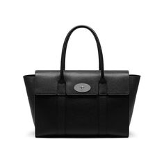 Shop the New Bayswater in Black Small Classic Grain Leather. Launched in 2003, its simple structure, timeless design and signature postman's lock made it instantly popular. The new design is light to carry, yet inherently structured. It can easily carry laptops, files, tablets and all modern accompaniments while maintaining its elegant aesthetic.