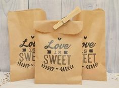 20 bolsas de papel kraft bodas eventos mesas de dulces Biscuits Packaging, Kraft Bag, Donuts, Gifts For Cooks, Wedding Store, Wedding Flower Decorations, Pretty Packaging, Jewelry Packaging, Paper Cards