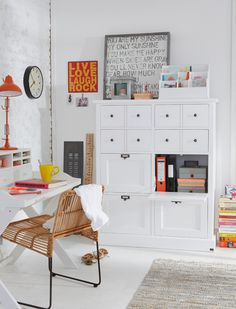 Contemporary Home Office - Find more amazing designs on Zillow Digs! Contemporary Home Offices, Home Office Space, Relax, My New Room, Office Interiors, Storage Spaces, Storage Area, Office Decor, Office Ideas