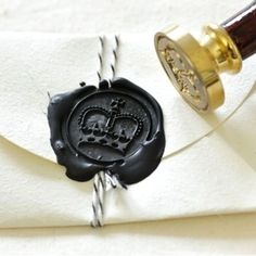 Royal Crown Wax Seal Stamp Kit