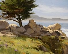 Pescadero Spring by Laurie Kersey Oil ~ 11 x 14