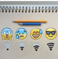 Shared by nadya amelia putri. Find images and videos about art, drawing and emoji on We Heart It - the app to get lost in what you love. Emoji Drawings, Cute Disney Drawings, Cool Art Drawings, Art Drawings Sketches, Kawaii Drawings, Social Media Art, Emoji Wallpaper, Doodle Art, Cute Wallpapers