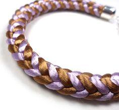 LIFE OF LINUZ: Kumihimo tutorial - square braid - firkantfletting