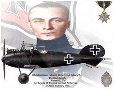 Albatros D.V - Eduard Ritter von Schleich (1888 - 1947)