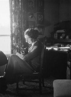 Wanda Landowska, claveciniste polonaise. Paris, octobre 1935. © Boris Lipnitzki / Roger-Viollet