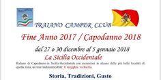 Capodanno con il Traiano Camper Club #giropercampeggi #campeggi #camper #tenda
