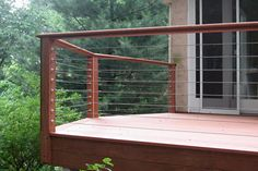 raileasy cable railings are easily installed on any type of deck layout