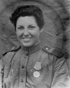 Red Army Women. Best female snipers.Yevgenia Makeeva killed 68 fascists.