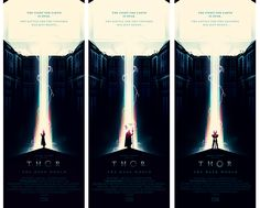 THOR: THE DARK WORLD Poster Art by Olly Moss - News - GeekTyrant