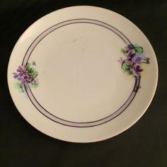For Sale: JC Bavaria violets saucer - #3293