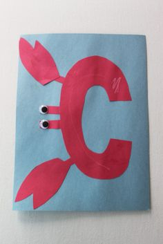 This was a fun craft to do after reading The Clumsy Crab by Ruth Galloway and as an activity for the letter C. http://tiny.cc/5fola