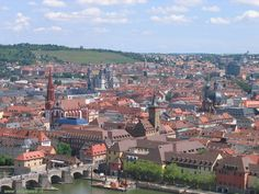 Wurzburg, Germany    My oldest daughter was born here, lots of memories!