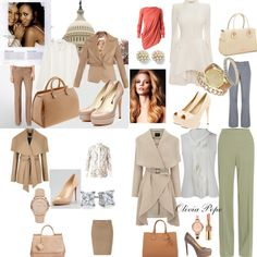 Olivia Pope inspired fashion - Found accessories to match at  https://jewelryfanatic.kitsylane.com/
