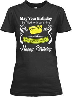Sunshine Happy Birthday T-Shirt