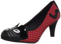 TUK Kitty Heel - Red