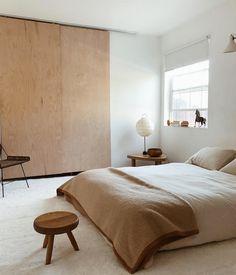 Minimalist Interior, Minimalist Bedroom, Minimalist Home, Modern Interior Design, Minimalist Apartment, Interior Paint, Interior Ideas, Bedroom Interior Design, Minimal Bedroom Design
