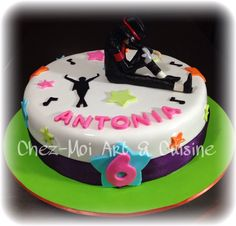 Michael Jackson Fan Birthday Cake