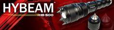 box design label for Hybeam Flashlight