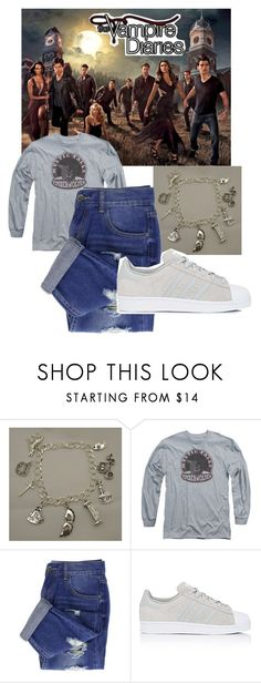 """The Vampire Diaries"" by musiclover143 ❤ liked on Polyvore featuring adidas"