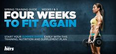 4 week program- really like this, gonna switch my routine to this awhile.
